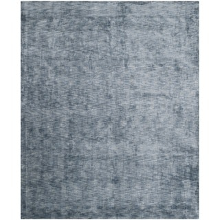 Safavieh Hand-loomed Mirage Blue Viscose Rug (9' x 12')