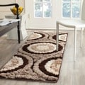 Safavieh Shag Brown Rug (2'3 x 9')