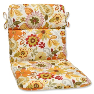 Pillow Perfect Outdoor Gaya Multi Rounded Corners Chair Cushion