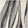 Safavieh Retro Light Grey/ Ivory Rug (8' Square)