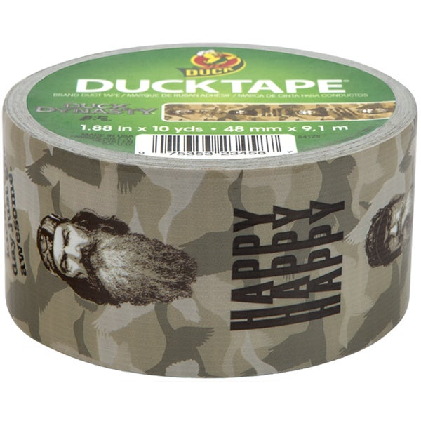 Licensed Duck Tape 1.88in X 10yd-Duck Dynasty