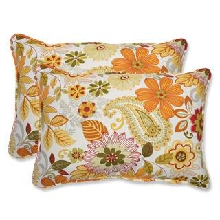 Pillow Perfect Outdoor Gaya Multi Over-sized Rectangular Throw Pillow (Set of 2)
