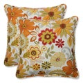 Pillow Perfect Outdoor Gaya Multi 18.5-inch Throw Pillow (Set of 2)