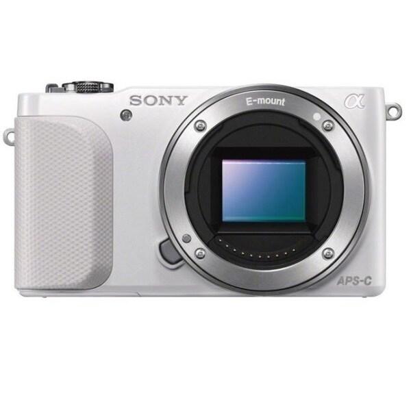 Sony Alpha NEX-3N Mirrorless Digital Camera White Body