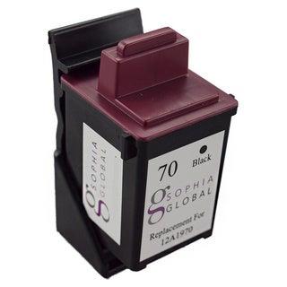 Sophia Global Remanufactured Ink Cartridge for Lexmark 70 (1 Black)