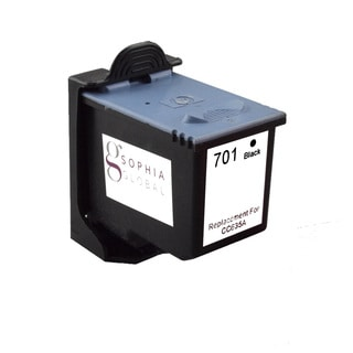 Sophia Global Remanufactured Ink Cartridge Replacement for HP 701 (1 Black)