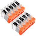 Sophia Global Compatible Ink Cartridge Replacement for Canon BCI-24 (10 Color)