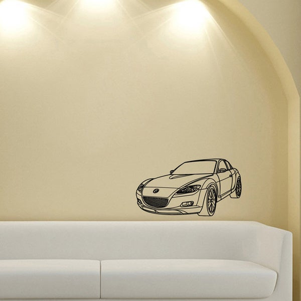 Mazda RX-8 Wall Vinyl Decal