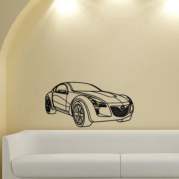 Cool Concept Mazda Wall Vinyl Decal