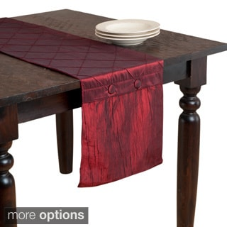 Diamond Pin Tuck Table Linens (Tablecloth or Table Runner)