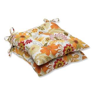 Pillow Perfect Outdoor Gaya Multi Wrought Iron Seat Cushion (Set of 2)
