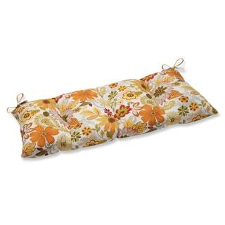 Pillow Perfect Outdoor Gaya Multi Wrought Iron Loveseat Cushion