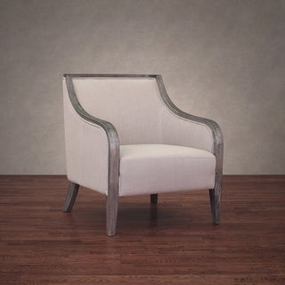 Beaumont Taupe Linen Armchair