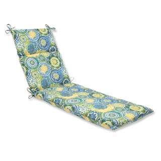 Pillow Perfect Outdoor Omnia Lagoon Chaise Lounge Cushion