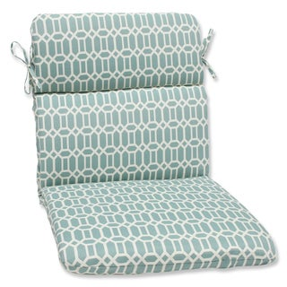 Pillow Perfect Outdoor Rhodes Quartz Rounded Corners Chair Cushion