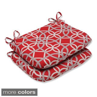 Pillow Perfect Keene Rounded Corners Outdoor Seat Cushions (Set of 2)
