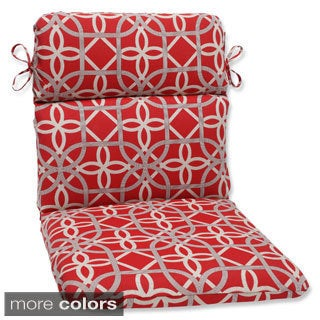 Pillow Perfect Keene Rounded Corners Outdoor Chair Cushion