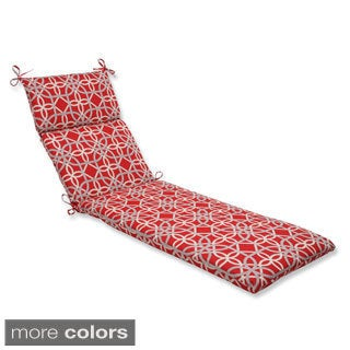 Pillow Perfect Keene Chaise Lounge Outdoor Cushion