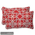 Pillow Perfect Keene Rectangular Outdoor Throw Pillows (Set of 2)