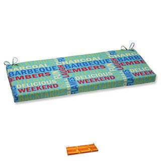 Pillow Perfect Grillin Outdoor Bench Cushion