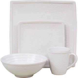 Sango 'Galaxy White' 16-piece Dinnerware Set
