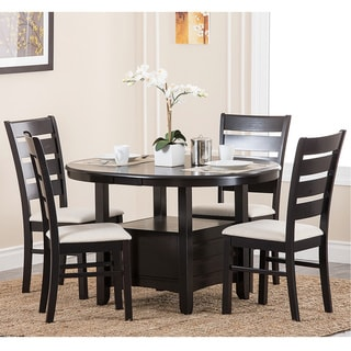 Abbyson Living Sorrento 5-piece Espresso Dining Set