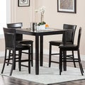 Abbyson Living 'Alexander' 5-piece Espresso Counter-height Dining Set