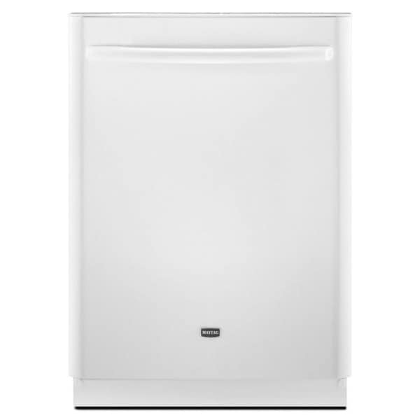 Maytag Jetclean Plus White Dishwasher