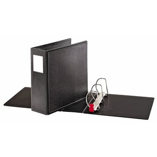 Cardinal Black SuperLife Easy-open Locking Slant-D 5-inch Ring Binder (Set of 2)