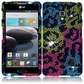 BasAcc Colorful Leopard Diamond Case for LG Optimus F6 D500/ MS500
