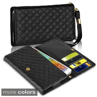 INSTEN Wallet Leather Case for Samsung Galaxy Note 2 3/ Apple iPhone 4S/ 5S/ 6