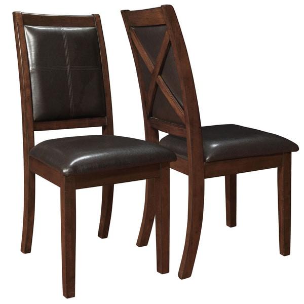 Dark Espresso Dining Chair (Pack of 2)