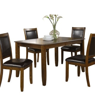 Dark Walnut Ash Veneer Dining Table