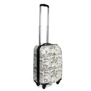 Amelia Earhart Explorer 20-inch Hardside 360-degree Spinner Carry-on Upright