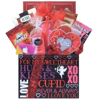 iValentine Fun Valentine's Day Gift Basket for Tweens/ Teens