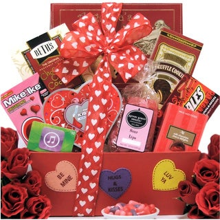 iValentine Fun Valentine's Day Gift Basket for Tweens/ Teens
