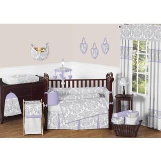 Sweet Jojo Designs Elizabeth 9-piece Crib Bedding Set