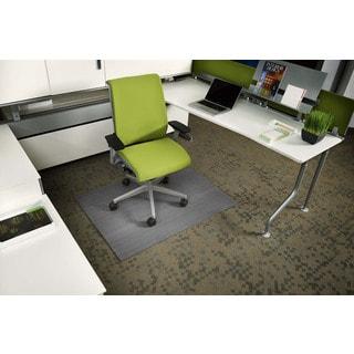 Jani Eco-natural Composite Rectangular Grey Chair Mat