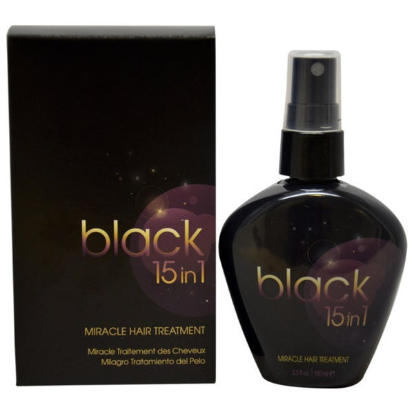 Black 15-in-1 3.3-ounce Miracle Hair Treatment