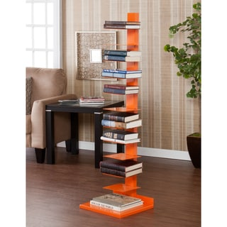 Upton Home Weldon Orange Spine Book/ Media Tower