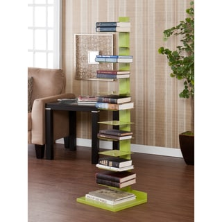 Upton Home Weldon Lime Green Spine Book/ Media Tower
