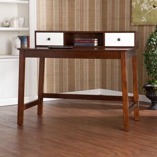 Upton Home Abby Espresso/ White Desk