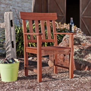 Upton Home Landry Hardwood Outdoor Arm Chair
