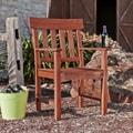 Upton Home Landry Hardwood Outdoor Arm Chair