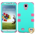 BasAcc Green/ Electric Pink TUFF Case for Samsung Galaxy S4 I337