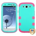 BasAcc Green/Electric Pink TUFF Case for Samsung Galaxy S3 i747