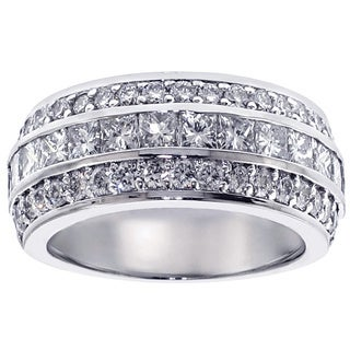 14/18k Gold or Platinum 2 1/2ct TDW Diamond Anniversary Band (F-G, SI1-Si2)