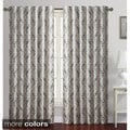 Rayna Leaves Print Blackout Curtain Panel