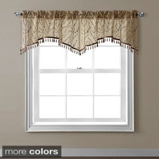 Berkley Floral Pattern Window Valance