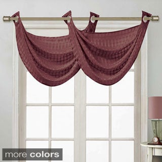 Drake Double Swag Window Valance